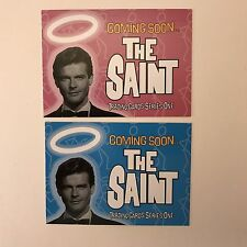 PROMO CARDS: THE SAINT SERIES ONE 2002 Cards Inc: 2 DIFFERENT #P1 & #P2