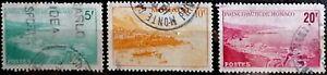 MONACO - LOT DE 3 TIMBRES - 1948 - N° YT 310 à 312
