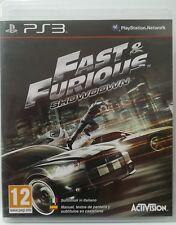 Fast & Furious Showdown. Ps3. Fisico. Pal Es