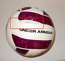 Under Armour UA Redondo Volleyball, Pink/Maroon/White, Official (New Defect)