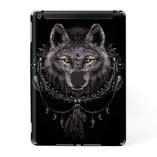 Skins Decal Wrap for Apple iPad 9.7 2017 Wolf dreamcatcher back white