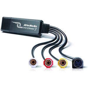AVerMedia C039 DVD EZMaker 7 - Analog to Digital USB Video Capture Device