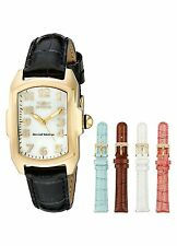 Invicta Womens 13834 Lupah Gold Plated MOP Dial Interchangeable Quartz Watch Set