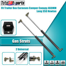 2x 460MM 350N Gas Struts for Caravans Camper Trailers Canopy Toolboxes Cabinets