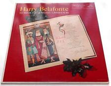 Harry Belafonte  To Wish You A Merry Christmas 1958  RCA Victor LPM-1887 Mono VG
