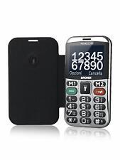 "Brondi Telefono Cellulare Anziani 2.4"" Tasto SOS Bluetooth radio FM Amico Chic"