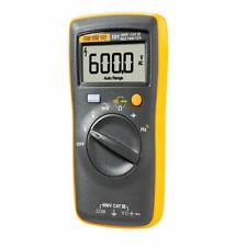 Fluke 101 Digital Multimeter Lcd Cat Iii 600v Auto Range Ac 6000v