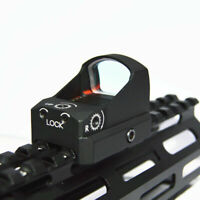 Tactical Red Dot 3 MOA Scope Sight with 20mm Picatinny Weaver Rail Mount