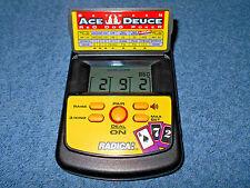 RADICA BETWEEN ACE DEUCE RED DOG POKER HANDHELD ELECTRONIC GAME 2860 - NICE