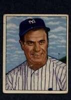 1950 Bowman #219 Hank Bauer VG/VGEX RC Rookie Yankees A2772