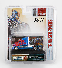 Jada Optimus Prime Western Star 5700 XE Phantom Transformers 1/64 14032-W1H