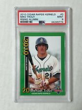 MIKE TROUT 2010 Cedar Rapids Kernels FIRST YEAR ISSUE SP RC! PSA MINT 9! INVEST!