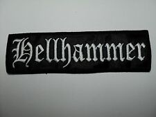 HELLHAMMER  LOGO  EMBROIDERED PATCH