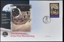 Solomon Islands 1999 Moon Landing, Space FDC Cover #C49499