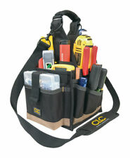 CLC  8 in. W x 16 in. H Polyester  Tool Carrier  25 pocket Black/Tan  1 pc.