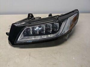 GENUINE OEM 2017-2019 Lincoln Continental FULL LED Headlight Left Driver 12216