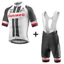 Maglia ciclismo Giant Team Sunweb Tier 1 SS Climber Jersey colore Nero-bianco L