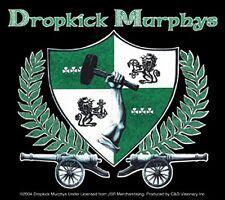 Dropkick Murphys CANCIONES Loud ADHESIVO VINILO 100mm x 115mm ( CV)
