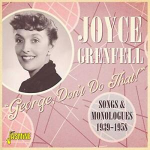 Joyce Grenfell-George Dont Do That CD NEW