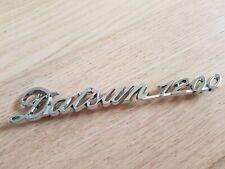 Genuine Datsun 1200 Rear Emblem Badge 84822H1600