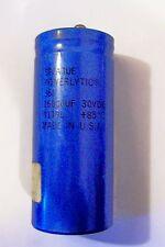 *NOS Sprague Powerlytic 9119L 16,000Mfd 30VDC electrolytic capacitor