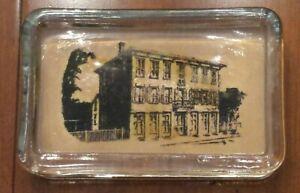 🌟 Vintage Germantown Ohio Glass Paperweight