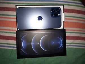 Used Apple iPhone 12 Pro Max 128GB Pacific Blue Unlocked