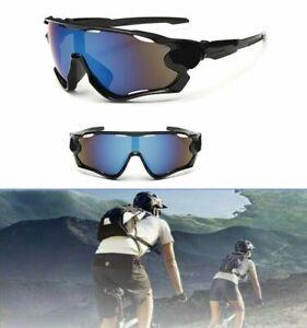 Aviator UV400 Sun Classes Ski Cycling Golf Bike Driving HD Mirror Anti Glare US