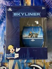 Disney Skyliner Sky Liner Frozen Anna Elsa Olaf Sven Small Toy With Display