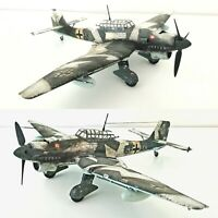 1/48 Junkers Ju-87 Stuka Winterversion gebaut und lackiert für Diorama