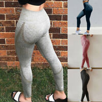 Women High Waist Stretch Yoga Leggings Fitness Gym Sport Pants Trousers Stocking