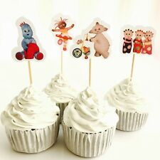 12x In The Night Garden Cupcake Topper Pick. *HANDMADE* Party Supplies Lolly Bag
