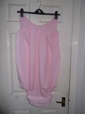 ADULT BABY~LITTLES~MAIDS~SISSY~UNISEX SOFT COTTON ALL-IN-ONE POPPER BODY~TEDDY