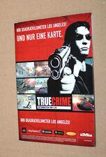 True Crime Streets of LA Map/affiches/plan de la ville Playstation 2 Xbox GameCube GC
