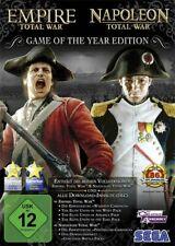 Empire: Total War + Napoleon: Total War - GOTY - PC - NEU & OVP