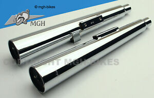 Marving Master Auspuff Silencers CM 400 T Custom 79-83 NC01