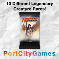 Collection of 10 Commander Legendary Lot Magic MTG w/ ONLY Rares & Mythic Rares!