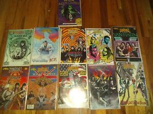 Revolutionary Comics! Rock n Roll Comics! Lot of 11 mint comics