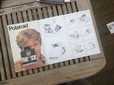 Original Polaroid Instruction Manual for sx-70 AF German + multilingual