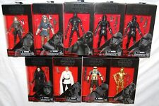 """Star Wars The Black Series 6"""" Figures 2016 Wave 3 & 4 Rogue One Complete Set NEW"""