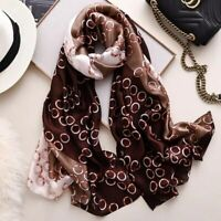 Silk Scarf printed Woman 2020 Luxury Shawls Scarves Long Ladies pashmina Wraps