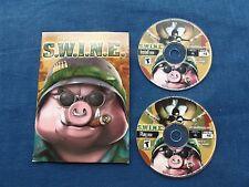 S.W.I.N.E. PC Video Game  2 disc's Fishtank 2001 (CIB)