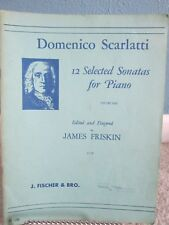 Scarlatti 12 Selected Sonatas for Piano