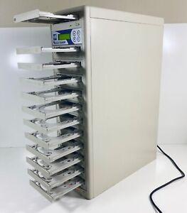 US DIGITAL MEDIA ACCUTOWER 1 to 11 DVD/CD Discs Burner Drives Duplicator System