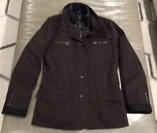 NWOT Dolce Gabbana D&G Mens Brown Brushed Cotton Insulated Field Jacket 48 $1595