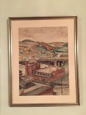 Original Painting by Wiliam A. Schwartz, Russian/American, signature, qouche