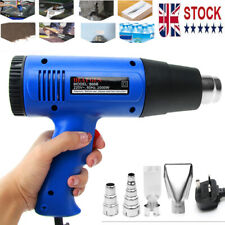2000W Heat Gun DIY Electric Tool Hot Air Gun DIY Home Improvement  Restoration
