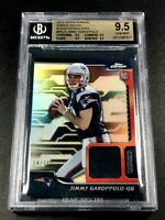 JIMMY GAROPPOLO 2014 TOPPS CHROME BLACK REFRACTOR /25 ROOKIE RC ALL BGS 9.5 SUBS