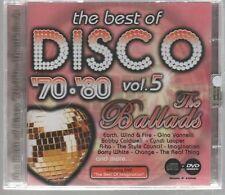 THE BEST OF DISCO '70 '80 VOL. 5 CD DVD F.C. SIGILLATO!!!