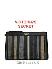 VICTORIA'S SECRET Genuine Sequin Bag Mesh Pouch Clutch Womens Girl Christma GIFT
